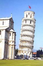 著名的伽利略斜塔���