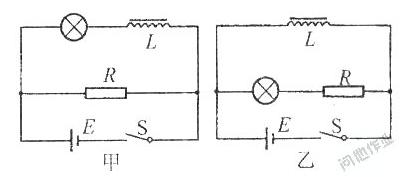 关于电感的物理题