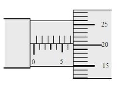 螺旋测微器示数读数